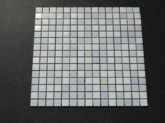 Facet Tegels Wit : Tegels wit glasmozaek tegels wit uni antislip with tegels wit