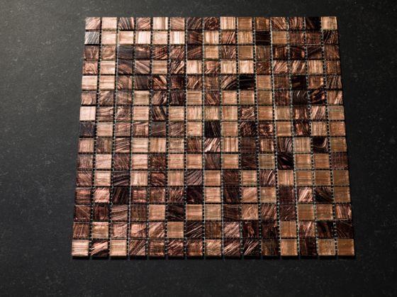 Glas Mozaiek Tegels : Mozaïek tegels bruin caramel goud mix otiles