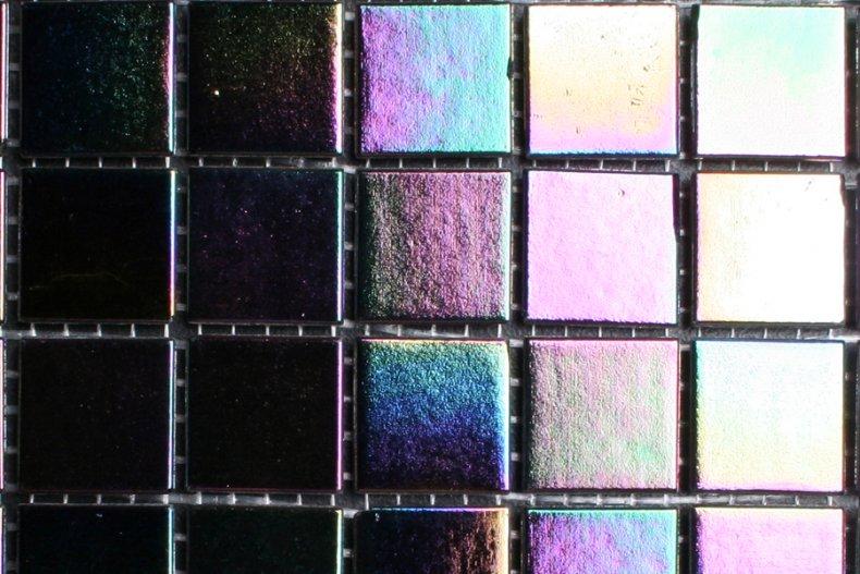 Mozaiek kleur parelmoer zwart otiles