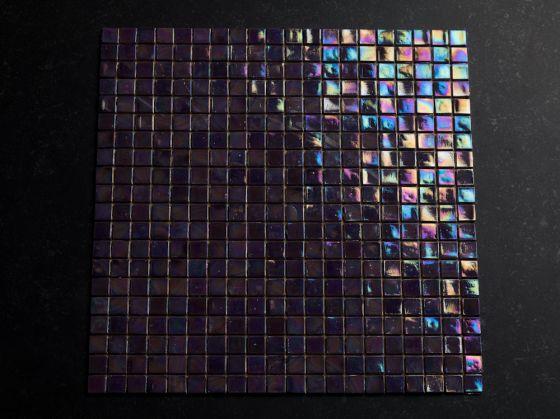 Glas Mozaiek Tegels : Ocean glasmozaïek paars mix otiles
