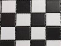 MHCE 16 black white matt 25x25x5mm