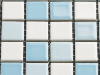 MHCE 10 light blue mix - glossy 25x25x5mm