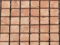 MHNS 02 terracotta - matt 15x15x6mm