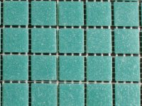 MAUC 45 turquoise 20x20x4mm