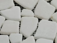 MHNS 30 pebble white flat 30/70x7mm