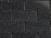 MHVA 03 black eng. stone - brick 47x23x7mm